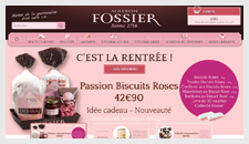 Biscuits fossier